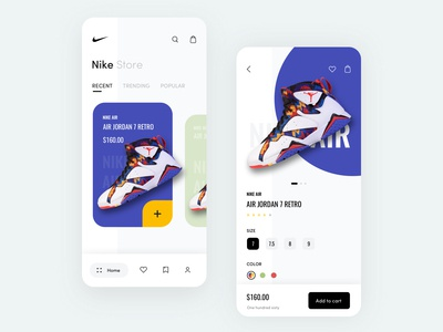 Nike Store App Concept