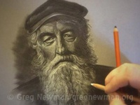 Fisherman Pastel Study
