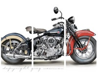 1946 Harley Davidson Model EL Knucklehead