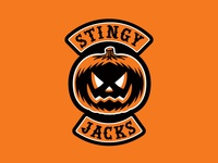 """Stingy Jacks"" Halloween Biker Patch"