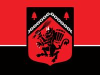 Krampus Heraldic Shield Patch