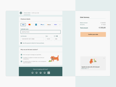 Payment Checkout View payment form payment daily ui ui