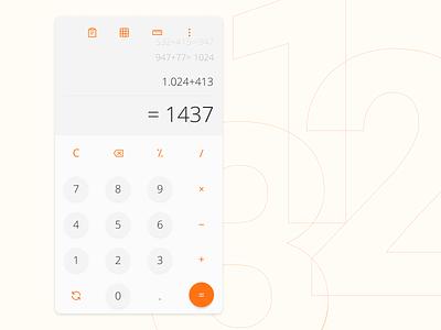 Calculator design mobile calculator ui calculator ux ui