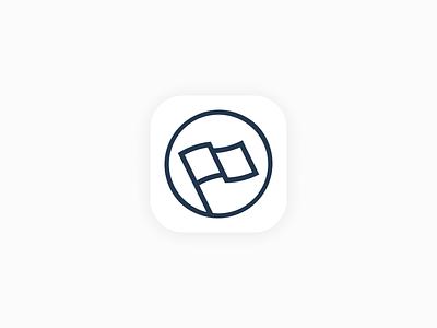 App Icon dailyui ui flag branding app icon