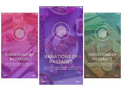 Walkthrough onboarding walkthrough ios illustrations hydration clean app
