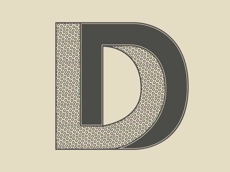 Typehue D letter design challenge tyopgraphy type typehue