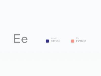 #Typehue Week 5: E design challenge duotone letter type typography challenge typehue