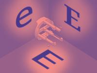 #Typehue Week 5: E (Steve Hopkinson)