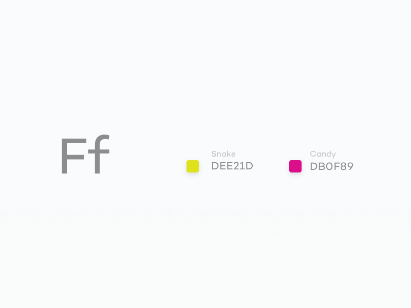 #Typehue Week 6: F lighthouse colour letter type challenge creative weekly typehue