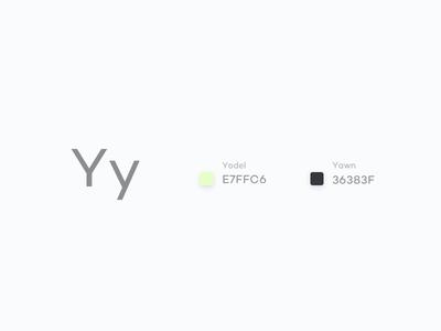 #Typehue Week 25: Y challenge typography design colour y type typehue weekly