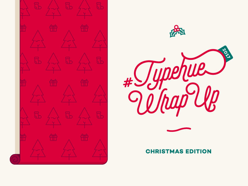 #Typehue Wrap Up - Christmas Edition wrap wrapup typehue paper wrapping christmas