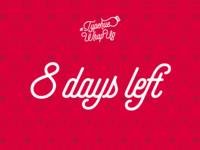 #Typehue Wrap Up - 8 days left!