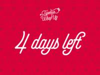 #Typehue Wrap Up - 4 days left!