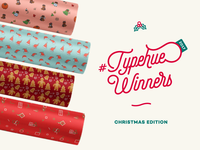 #Typehue Winners - Wrap Up 2017