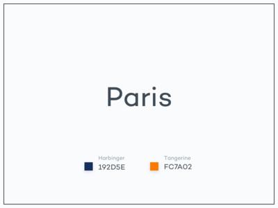 #Typehue CityView Week 1: Paris illustration colours challenge typehue paris panorama view city cityview