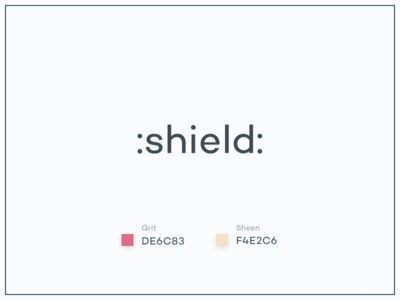 #Typehue Emoji Week 1: Shield