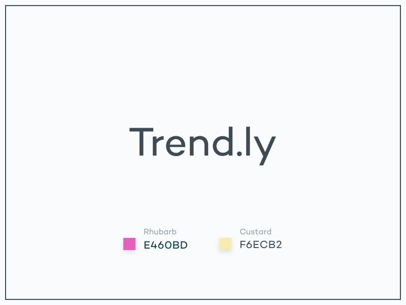 #Typehue Brandom Week 6: Trend.ly trendly brandom typehue