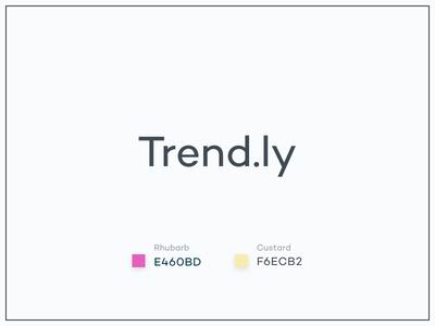 #Typehue Brandom Week 6: Trend.ly