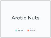 #Typehue Brandom Week 7: Arctic Nuts