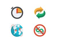 Icons set for GlobalForwardings