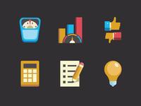Icons set for secret project ;)