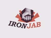 Logo design for AironJab