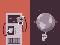 Illustrations design for IronJab website