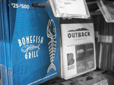 Bonefish Grill | 2016 Retail Gift Card
