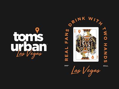 Tom's Urban   Branding beer branding restaurant illustration typography beer watchbar urban toms
