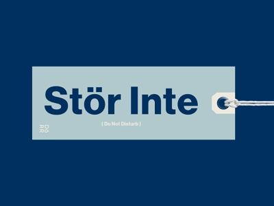 The Dörr Do Not Disturb do not disturb doory county design branding