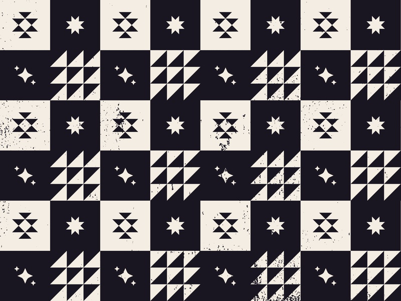 Tapestry Pattern santa fe branding design illustration