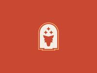 Coyote Icon coyote santa fe branding design icon vector logo