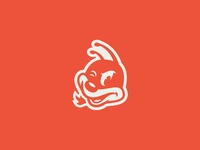 Honey Bee illustration vector icon branding design hot sauce hot honey bee logo