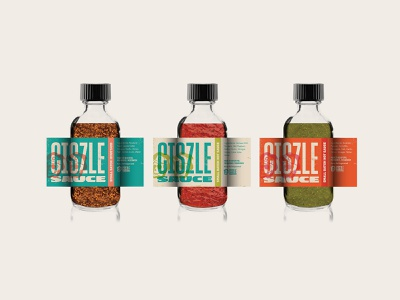 Ciszle Sauce Labels labels hot sauce milwaukee design branding