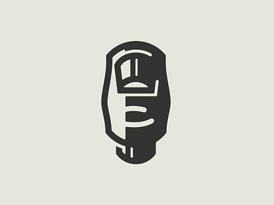 Thumb Knuckle icon illustration thumb