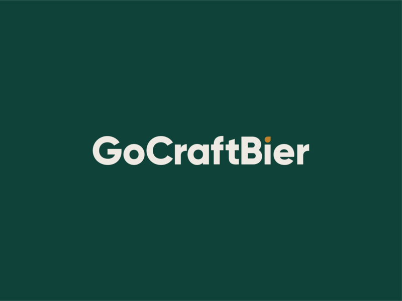 GoCraftBier Wordmark wordmark bier beer craft go
