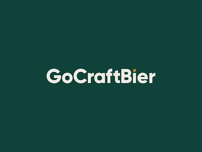 GoCraftBier Wordmark wordmark bier beer craft go