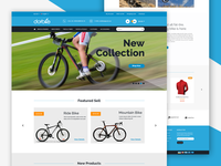 DotBike - Bicycle E-commerce Template