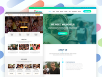 PureHeart - Charity & nonprofit NGO Template