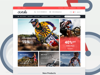 DotBike - Bike Store E-commerce PSD Template