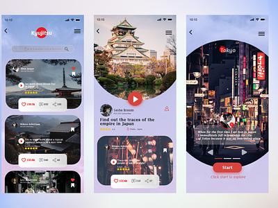 Mobile Travel apps travel design travel app travel mobile design mobile app mobile ui mobile