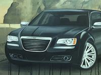 Chrysler 300C Painting