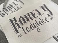 Rarely Ladylike Logo