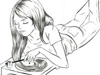 Spinning Hair