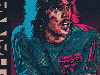 Bob Hannah bob hannah illustration mx motocross