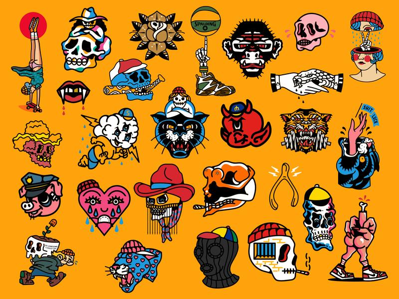 Skulls n' Such Flash Sheet