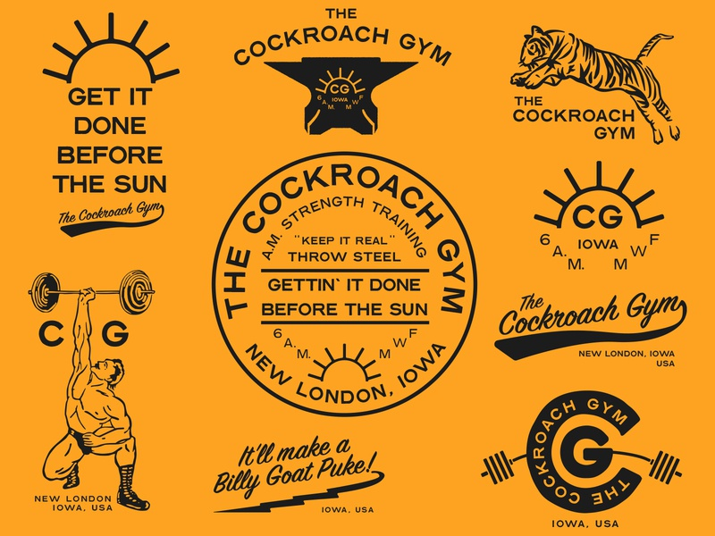 The Cockroach Gym