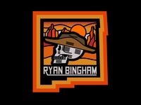 Ryan Bingham Sticker
