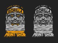 Gorilla Print Shop