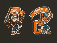 Crush It Mascots